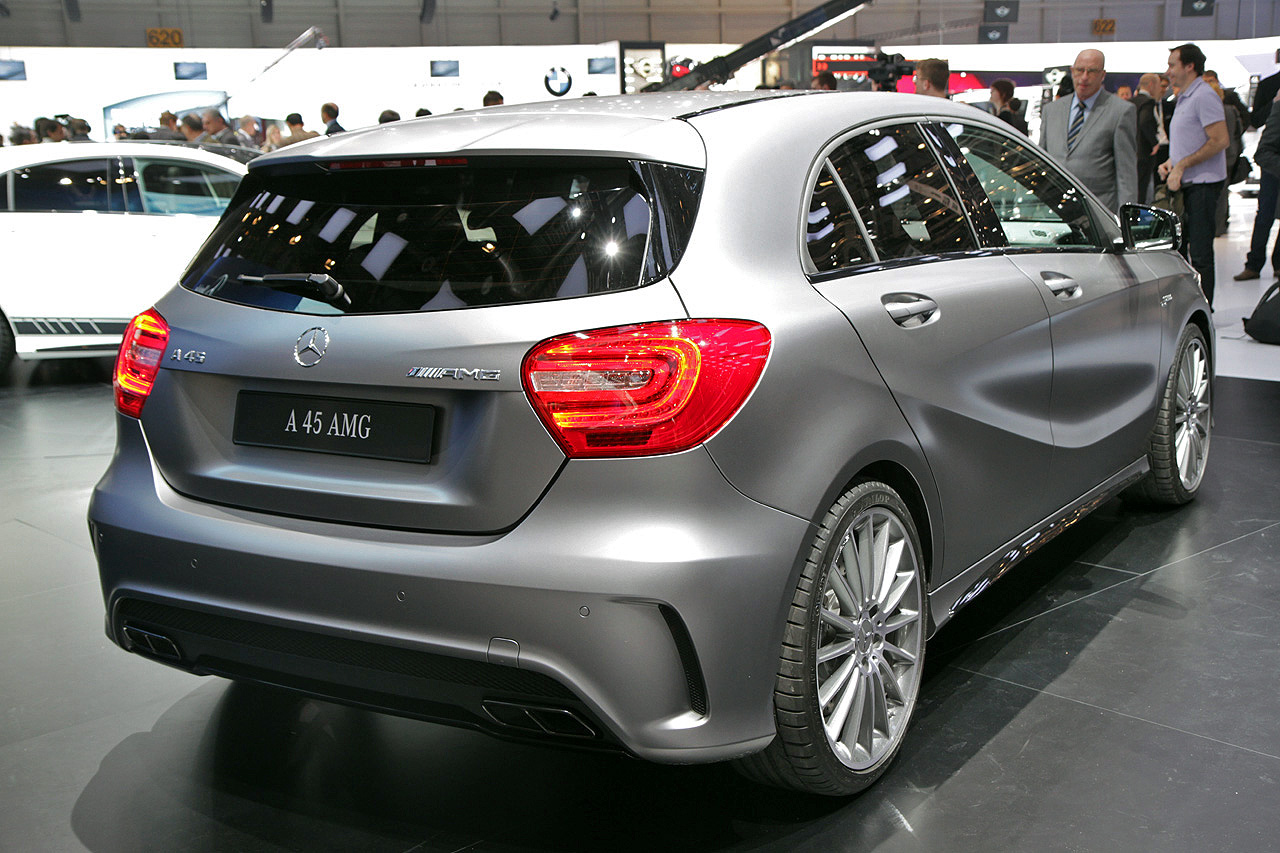 2014 mercedes benz a45 amg geneva 2013 photo gallery autoblog. Black Bedroom Furniture Sets. Home Design Ideas