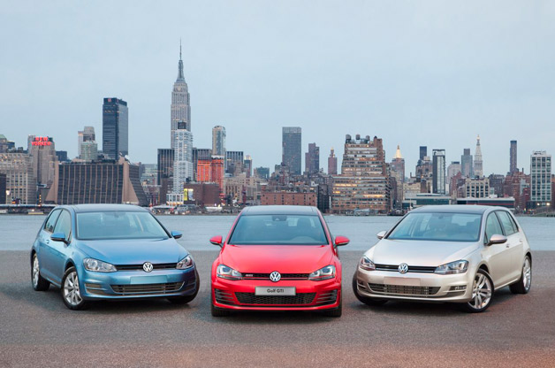 2015 VW Golf, GTI and Golf TDI