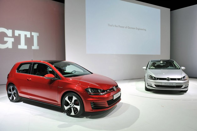 2015 Volkswagen GTI and Golf