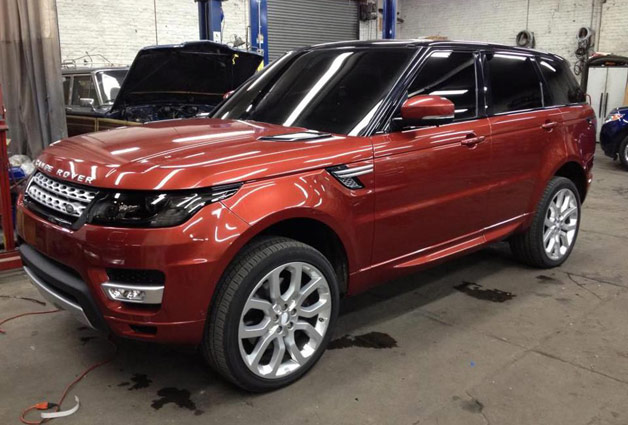 2014 Land Rover Range Rover Sport spy shot