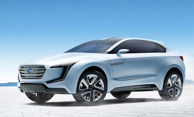 Subaru Viziv concept - front three-quarter view