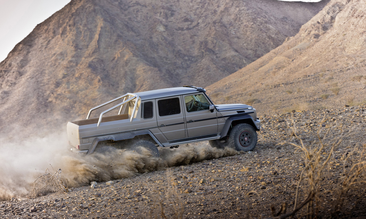 mercedes prices g63 amg 6x6 at around 513k autoblog. Black Bedroom Furniture Sets. Home Design Ideas