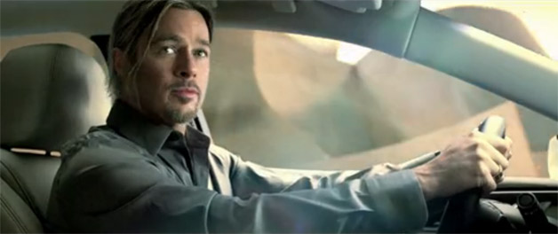 Watch Brad Pitt's Chinese Cadillac XTS commercial