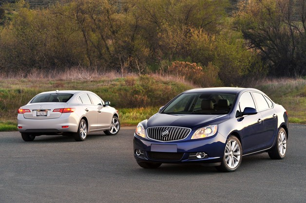 2013 Buick Verano Turbo vs. 2013 Acura ILX