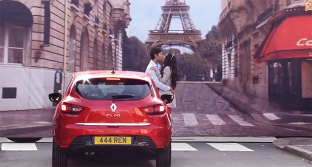 Renault sells French sex interest with stripped-down dancers, 'va va voom' button