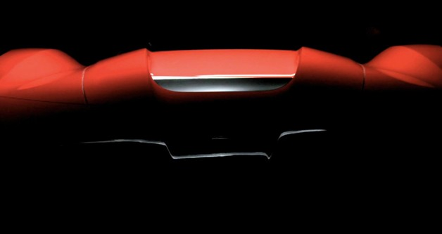 Ferrari starts releasing central teasers for latest supercar