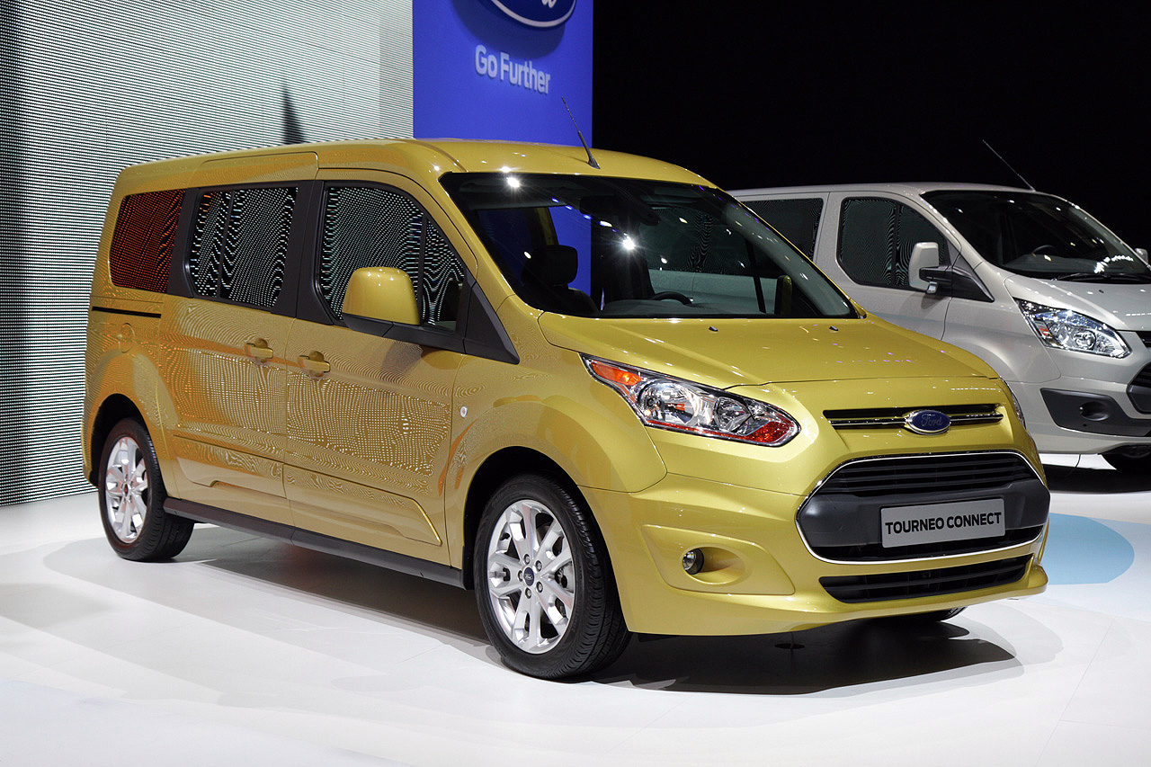 Ford Tourneo Connect: Geneva 2013 Photo Gallery - Autoblog