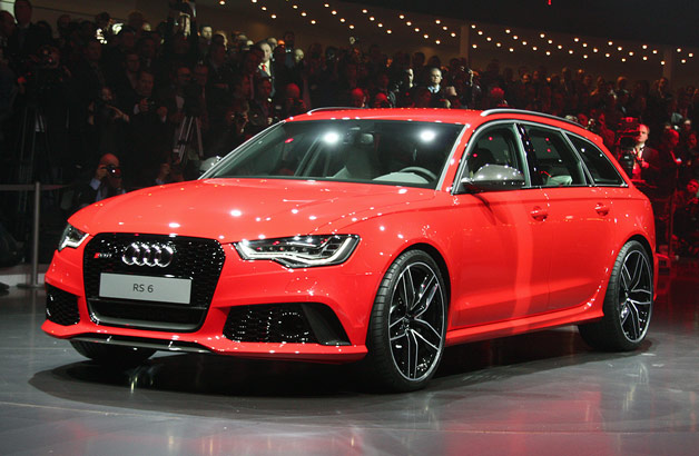 2013 Audi RS6 Avant hauls ass and then some