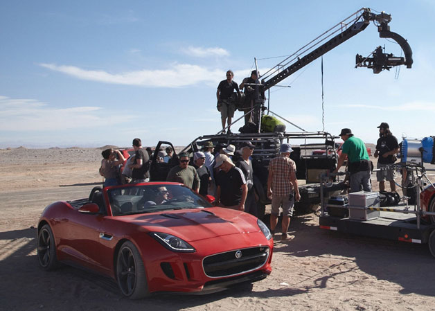 Watch a trailer for Jaguar's reduced movie starring a F-Type as well as Damian Lewis