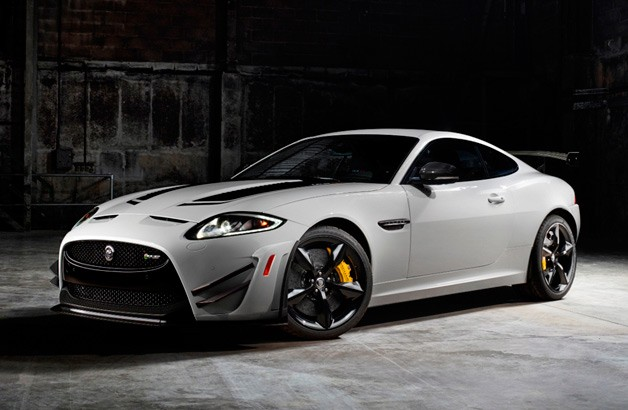 2014 Jaguar XKR-S GT - front three-quarter view