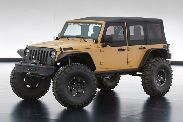 Jeep reveals annual Moab Easter Jeep Safari concepts [UPDATE]