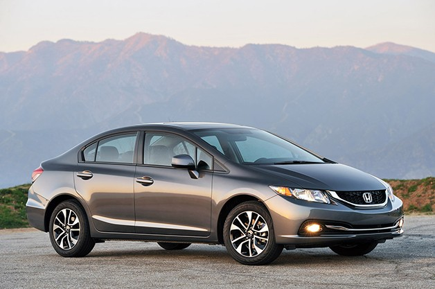 2013 Honda Civic Sedan - front three-quarter view
