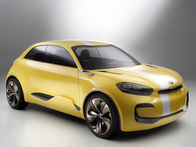 "Kia's betrothed ""four-door coupe"" Cub concept… isn't"