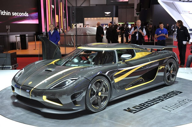 Koenigsegg Agera S Hundra is the CO essential element as well as bullion root party