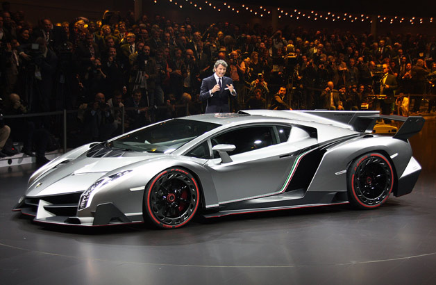 Lamborghini Veneno officially unveiled