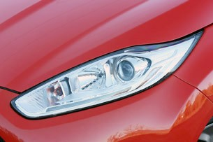 2014 Ford Fiesta ST headlight