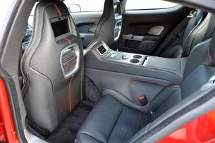 2014 Aston Martin Rapide S rear seats