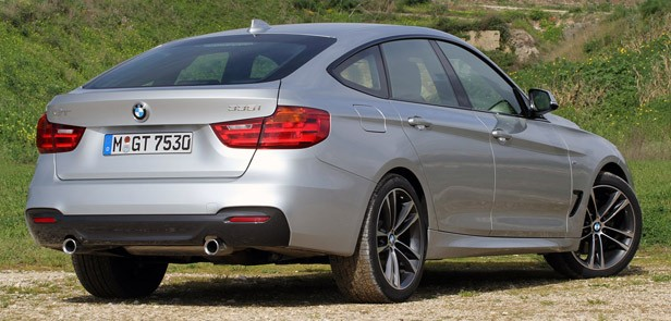 2014 BMW 3 Series Gran Turismo rear 3/4 view