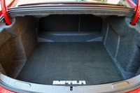 2014 Chevrolet Impala rear cargo area