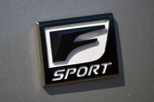 2014 Lexus IS350 F-Sport badge