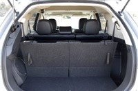 2014 Mitsubishi Outlander rear cargo area