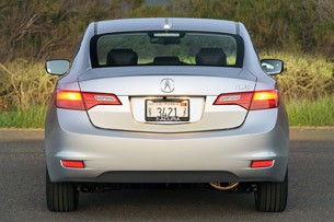 2013 Acura ILX rear view