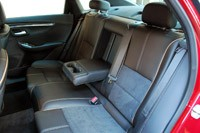 2014 Chevrolet Impala rear seats