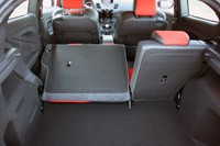 2014 Ford Fiesta ST rear cargo area
