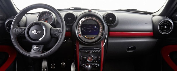 2014 Mini John Cooper Works Paceman All4 interior
