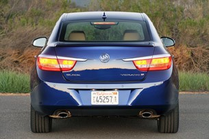 2013 Buick Verano Turbo rear view