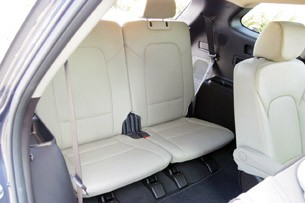2013 Hyundai Sante Fe third row