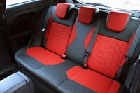 2014 Ford Fiesta ST rear seats