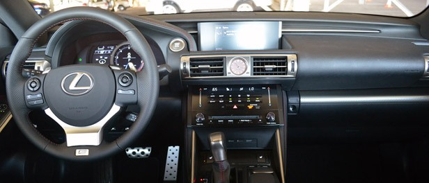 2014 Lexus IS350 F-Sport interior