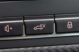 2014 Volkswagen XL1 EV button