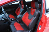2014 Ford Fiesta ST front seats