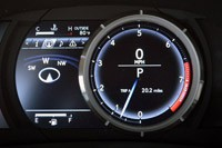 2014 Lexus IS350 F-Sport gauges