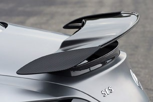 2014 Mercedes-Benz SLS AMG Black Series rear spoiler