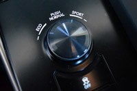 2014 Lexus IS350 F-Sport drive mode control knob