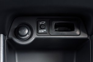 2014 Mitsubishi Outlander automatic tailgate button