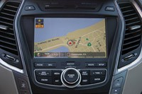 2013 Hyundai Sante Fe instrument panel
