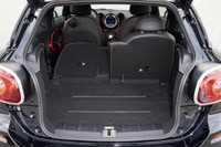2014 Mini John Cooper Works Paceman All4 rear cargo area