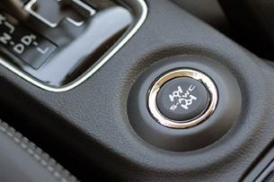 2014 Mitsubishi Outlander A-AWC button