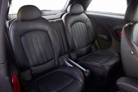 2014 Mini John Cooper Works Paceman All4 rear seats