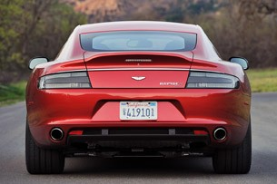 2014 Aston Martin Rapide S rear view