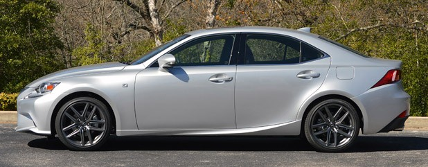 2014 Lexus IS350 F-Sport side view