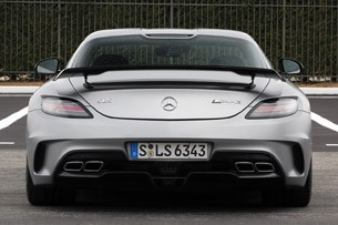 2014 Mercedes-Benz SLS AMG Black Series rear view