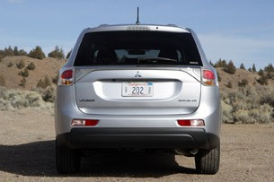 2014 Mitsubishi Outlander rear view