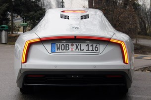 2014 Volkswagen XL1 rear view