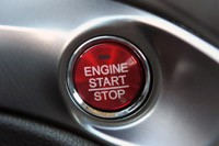 2013 Acura ILX start button