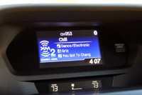 2013 Acura ILX infotainment system
